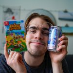 PBR, A Smiling Boy, and Animal Crossing.
