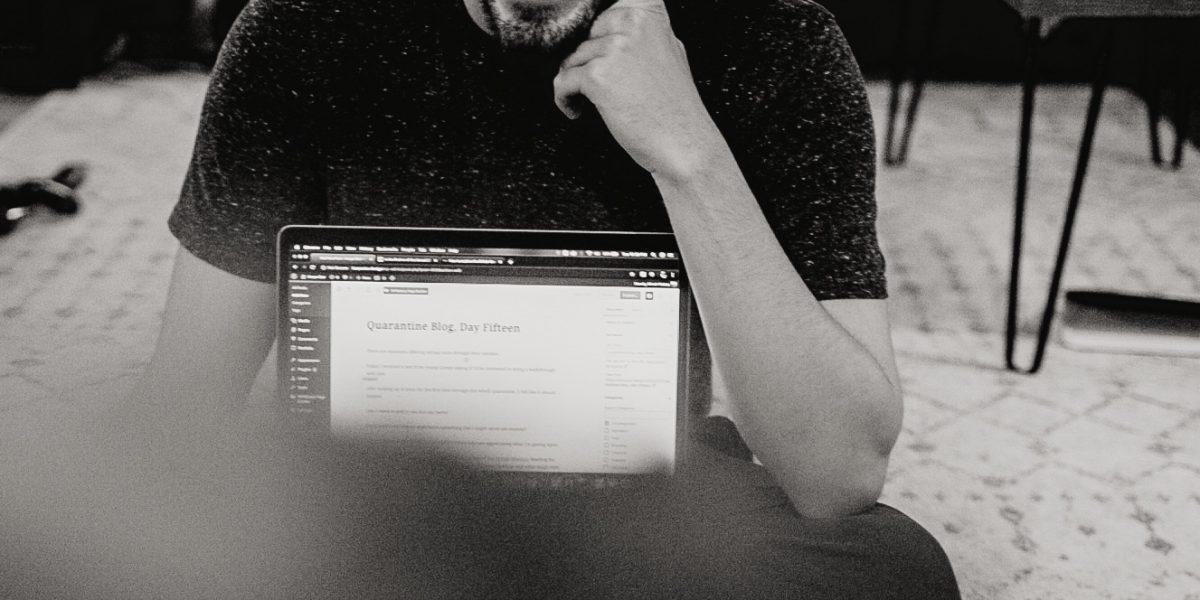 Quarantine Blog Writing