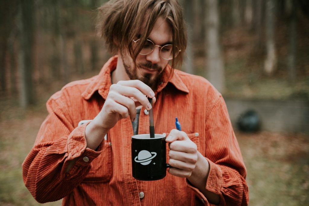 Quarantine Coffee Writing